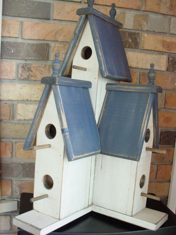 Large Victorian Birdhouse. $47.95, via Etsy.