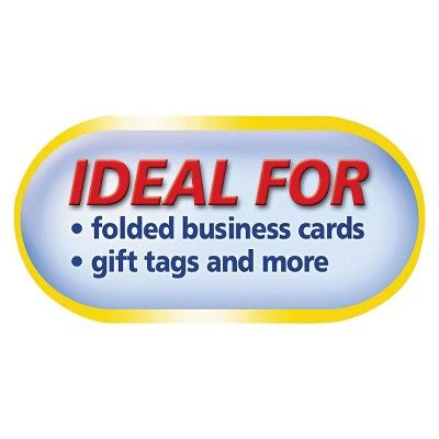 Avery 2 x 3 1/2 Small Tent Cards - White (160 Per Box)