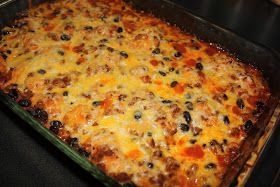 Southern Living Yankee: Bubble Up Enchilada Casserole