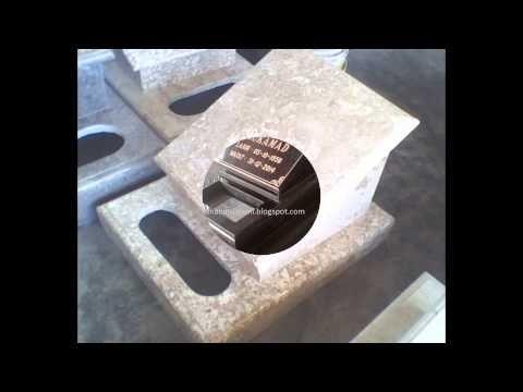Batu nisan makam / kuburan dari marmer - granit - onyx