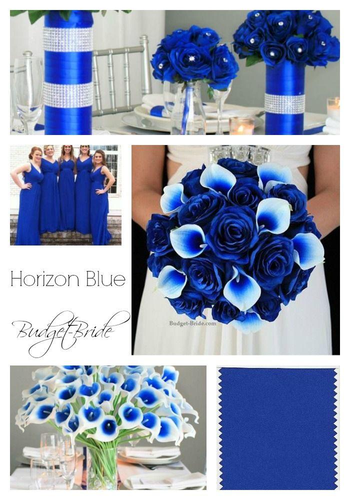 Horizon Blue Wedding Flowers