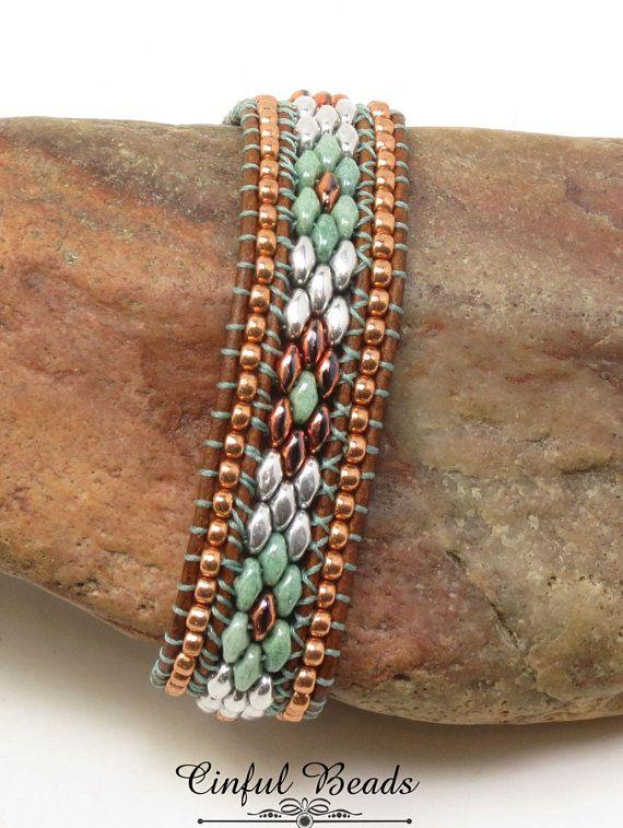 Leather Bracelet Superduo