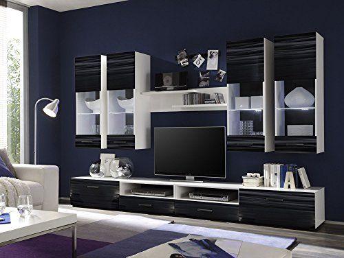 die besten 25+ wohnwand weiß hochglanz günstig ideen auf pinterest