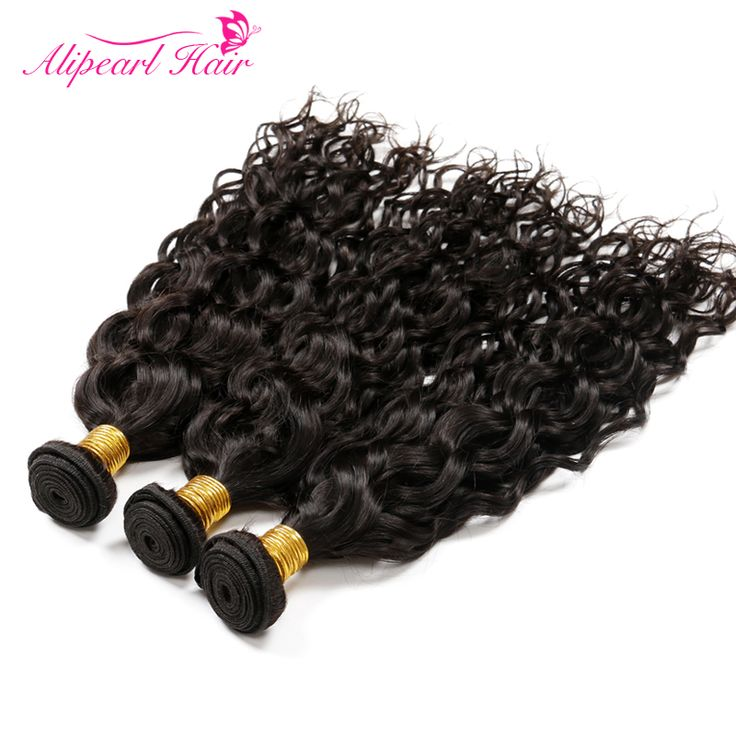 Ali Pearl Hair Water Wave Peruvian Virgin Hair Ocean Wave 3pcs Lot Peruvian Water Wave Hair Wet and Wavy Human Hair Natural Wave