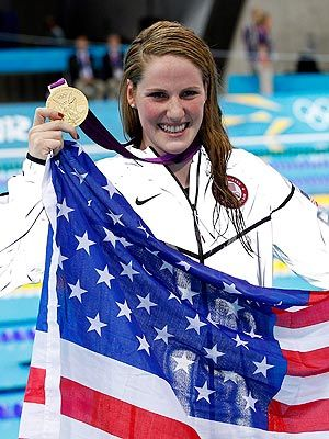 """God is always there for me. I talk with Him before, during and after practice and competitions. I pray to Him for guidance. I thank Him for this talent He has given me and promise to be a positive role model for young athletes in all sports."" -- Missy Franklin"