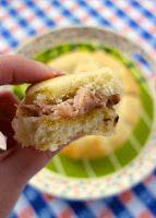 Brown Sugar Ham Rolls | Swiss Cheese | Butter | Dijon Mustard | Sister Schubert Rolls Buns | plainchicken.com