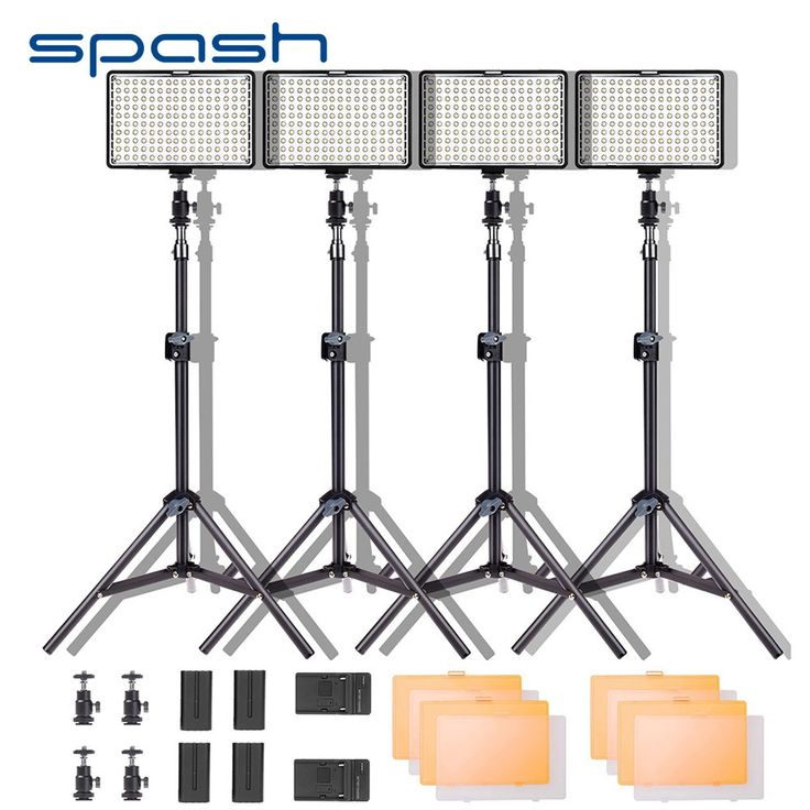 Big discount US $139.99  spash TL-160S LED Video Light Kit Photography Lighting with Stand NP-F550 Battery Dimmable 3200K-5600K 160 LED Studio Lamp  #spash #Video #Light #Photography #Lighting #Stand #Battery #Dimmable #Studio #Lamp  #Online