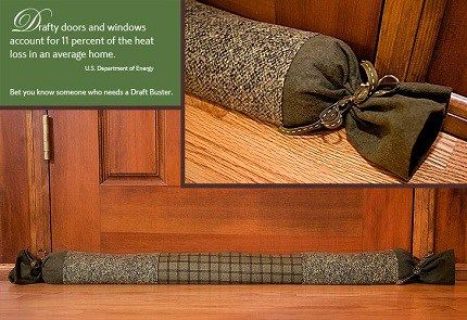 Drafty windows and doors are a major source of heat loss in your house. Sew4Home & 21 best Door Draft Stoppers images on Pinterest | Draft stopper ...