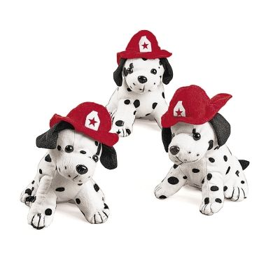 Plush Dalmatian Fire Dogs Party Favors B Day Party Little Boy