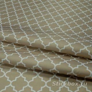 Ткань Оксфорд 200D PU 1000, принт Марокканский узор, на отрез