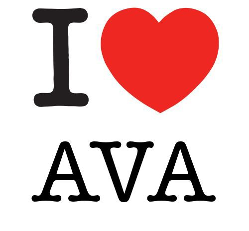 AVA! I'm making shirts, who wants one? I figure, $5/shirt, sales would pay for college...that girl has fans!