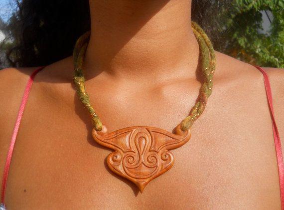La Tene style necklace by AtelierWizArt on Etsy, €120.00