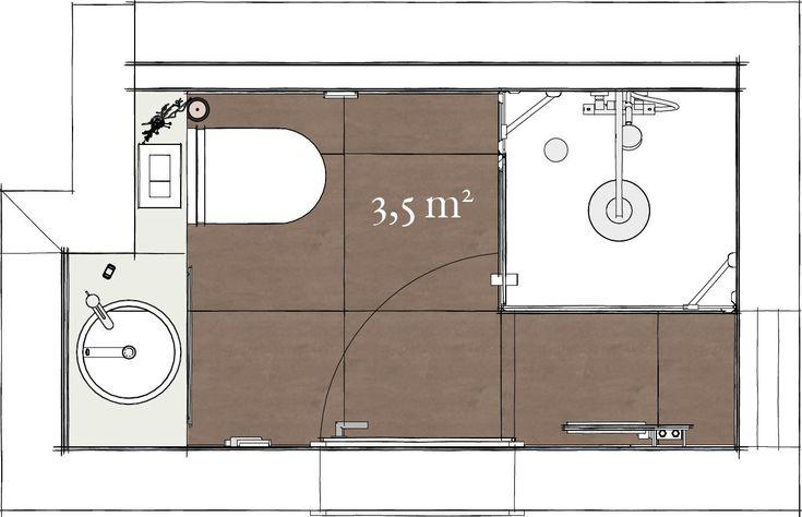 g stebad mit dusche auf 3 5 m 82166 gr felfing loft. Black Bedroom Furniture Sets. Home Design Ideas