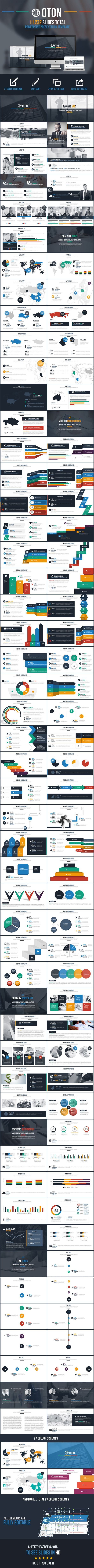 Oton Powerpoint Presentation Template #slides #design Download: http://graphicriver.net/item/oton-powerpoint-presentation-template/10949220?ref=ksioks