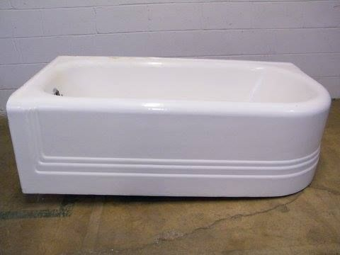 66 best cast iron antique restoration images on pinterest for How long is a standard tub