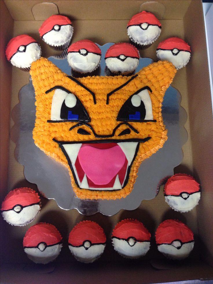 Charizard Cake Birthday Pokemon Birthday Cake