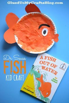 Dr Seuss Beginner Book Inspired Fish {Kid Craft}