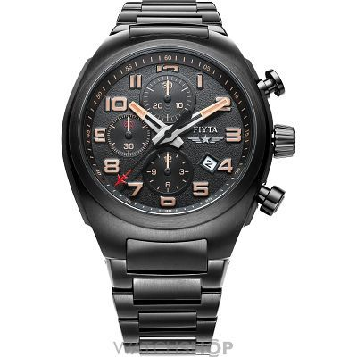 Mens FIYTA Extreme Automatic Chronograph Watch GA8540.BBB