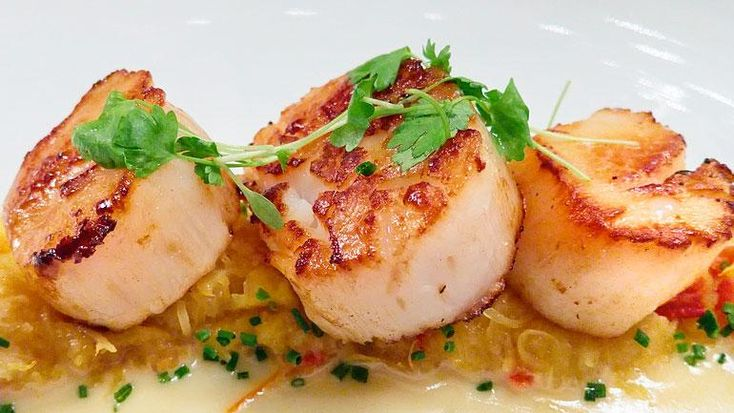 Seared Maine Diver Scallops | Recipes | Check, Please! | WTTW--Blackbird