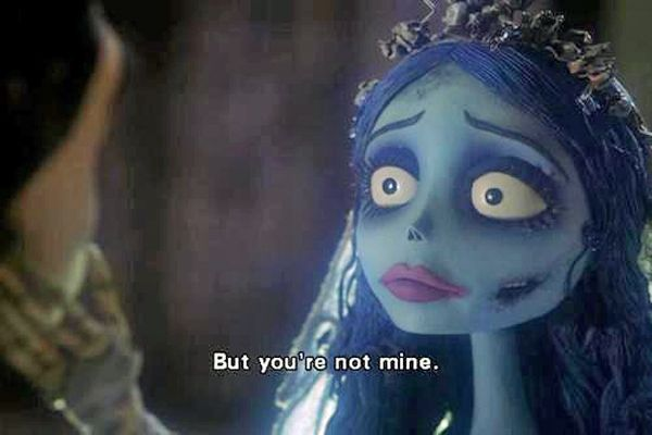His characters are willing to sacrifice anything for the ones they love, even if that means they have to let them go. | Community Post: 19 Reasons Tim Burton Is The King Of Romance