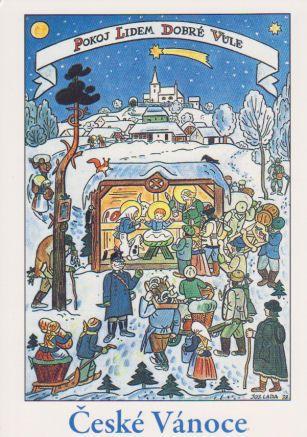 Czech Christmas I author Josef Lada