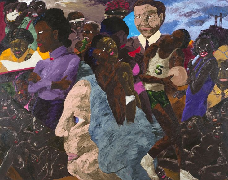 WITH TWO MAJOR MUSEUM EXHIBITIONS on the horizon, Blum & Poe announced its representation of the estate of Robert Colescott (1925-2009). The thinking man's provocateur, Colescott challenged art history and reinterpreted American history, painting transgressive, racially and sexually charged scenes with wit, insight, and imagination.