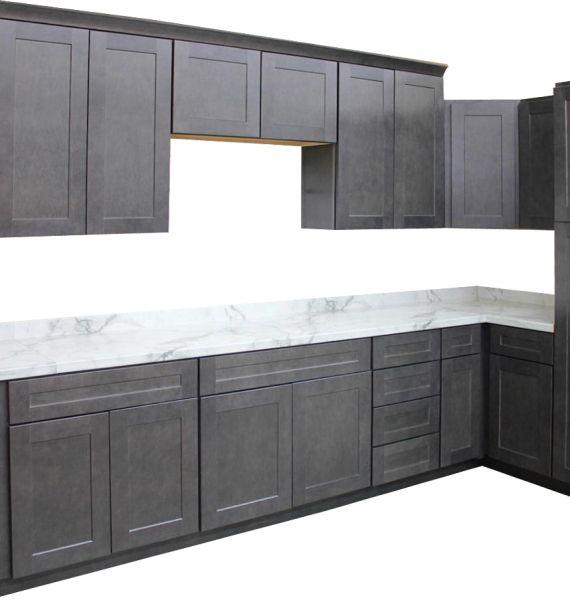 Jamestown Deluxe Slate Kitchen Cabinets Builders Surplus In 2020 Wholesale Kitchen Cabinets Slate Kitchen Cheap Kitchen Cabinets