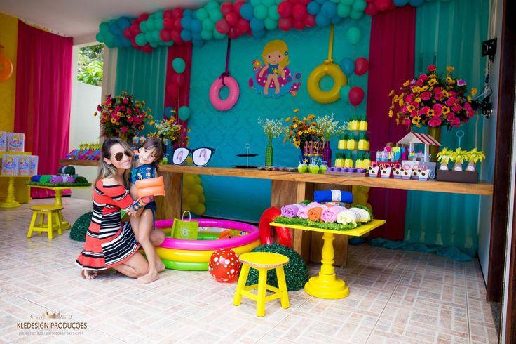Foto de Pool Party Maria Clara 5 anos