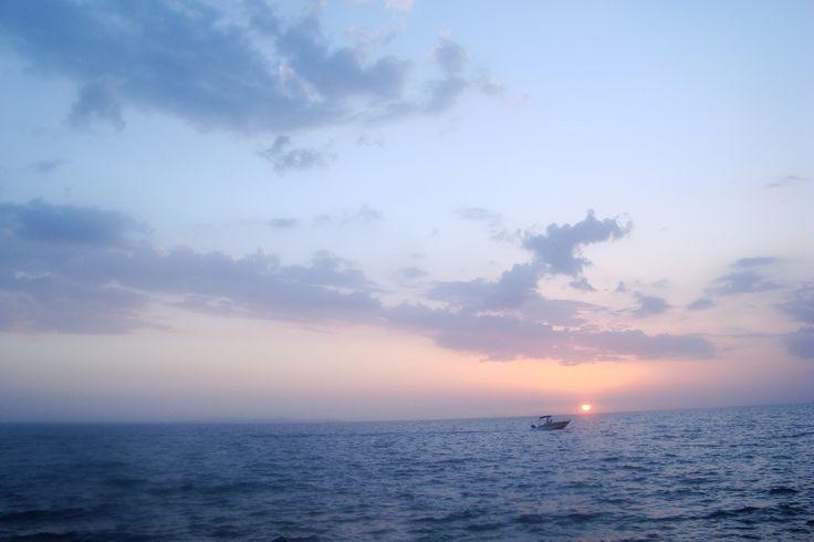 The sea at Roitika Patras. Just beautiful!