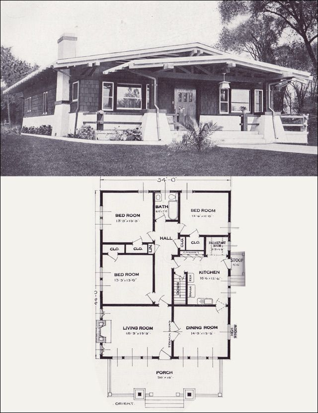 84 Best Bungalow Plans Images On Pinterest