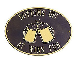 Personalized Beer Mugs Plaque #beermugs