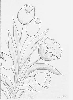 Baú da Web: Riscos de flores