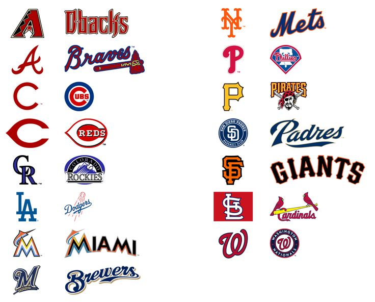 Krafty Nook: MLB - National Baseball League SVG Files