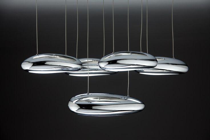 Drop Design 5B Lampadario a Sospensione Led Salotto Moderno — Import For Me