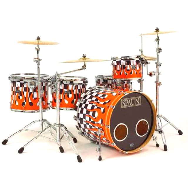 SPAUN Drums, Very cool   Its all about the Drums ...