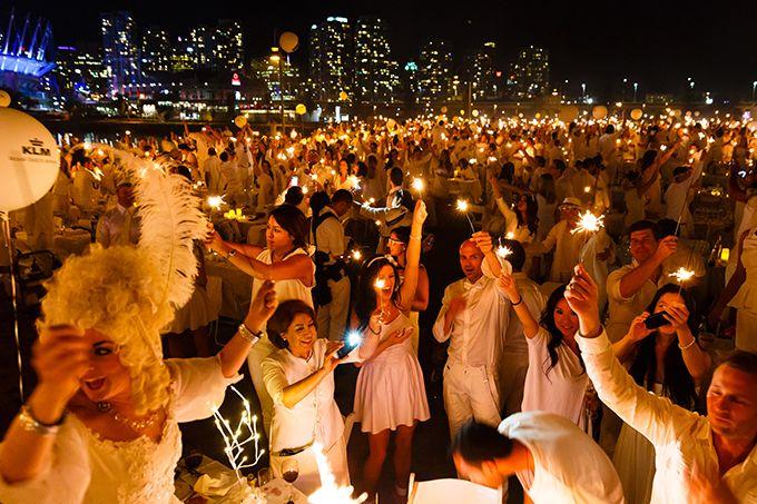 ドレスコード白のシークレット・ディナーパーティー「ディネ・アン・ブラン」が日本上陸の写真35