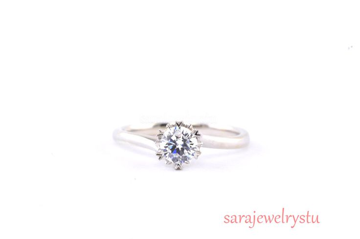 Engagement ring in Platinum or 14k/Simple beautiful diamond ring/ wedding ring jewelry/a classic frame for your center diamond(Setting ONLY) by sarajewelrystu on Etsy https://www.etsy.com/listing/210633268/engagement-ring-in-platinum-or-14ksimple