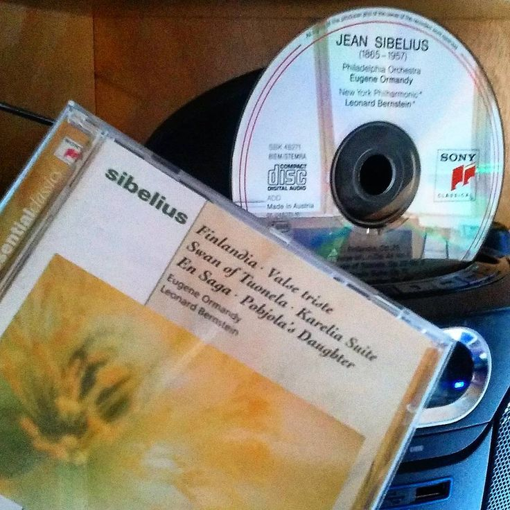 ..Sibelius Sunday! ...listening to Finland's greatest composer. #finland100_igchallenge 35/100, ...posting a series of random images from or associated with Finland to celebrate the country's 100th birthday. . . #sibelius #finland #sony #weareinfinland #music #finnishmusic #cd #nowlistening #nowplaying #cdcollection #jeansibelius #finlandia #helsinki #swanoftuonela #classical #musiccollection #recordcollector #classicalmusic #musiikki #composer #record #album #finland100 #finnish