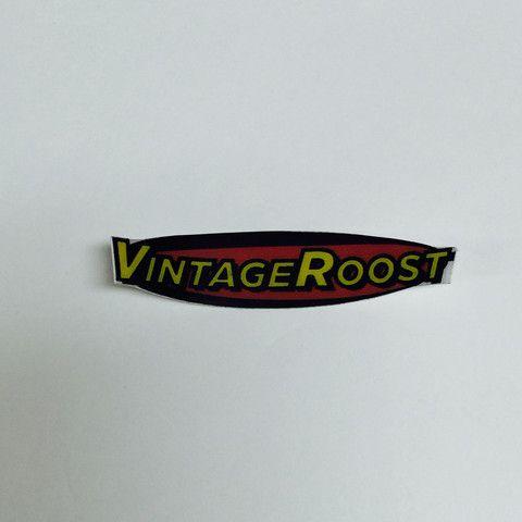 Vintage Roost Bike Decal