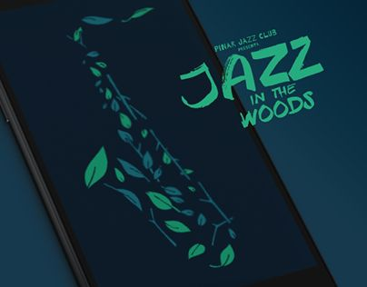 """Check out new work on my @Behance portfolio: """"Jazz in the Woods"""" http://be.net/gallery/38702675/Jazz-in-the-Woods"""