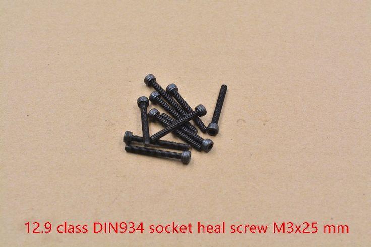 High strength alloy steel screw DIN912 M3x25 screw 12.9 class socket heal screw hexagon socket head cap screw 10pcs #men, #hats, #watches, #belts, #fashion, #style, #sport