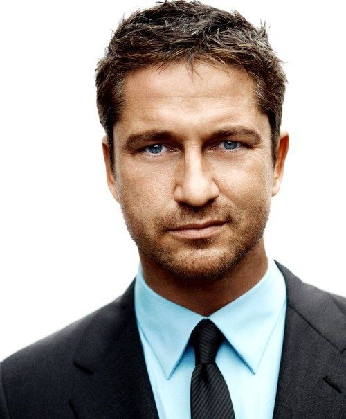 Gerald Butler :) older men are just as sexy!