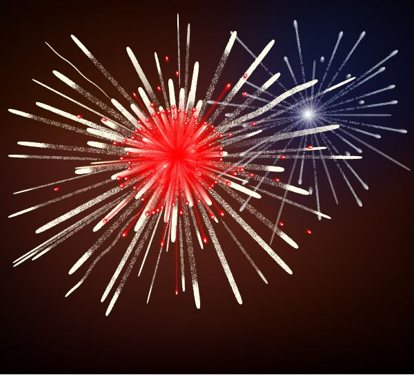 How to Create Fireworks Using Adobe Illustrator - perfect for the New Year!!   Vectortuts+