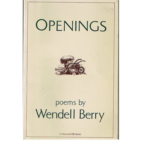 wendell berry essays poetry