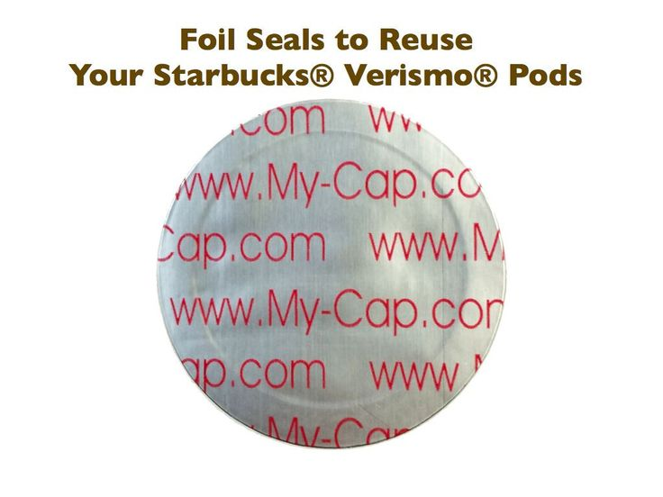 Features: - Includes: Instructions on how to reuse your Starbucks Verismo Pods, 100 or 200 foil seals - Create Starbucks Verismo Pods with your favorite coffee - BPA free Description: This product con