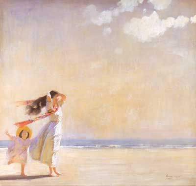 Dame Laura Knight-Summer