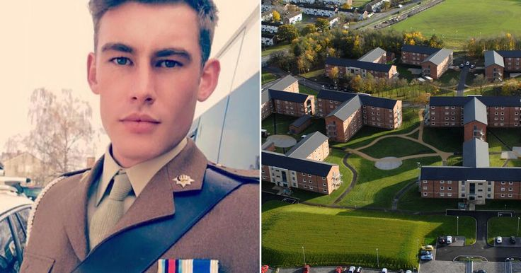 Corporal Adam Hosford was found dead at Catterick Garrison, North Yorks., on Monday evening