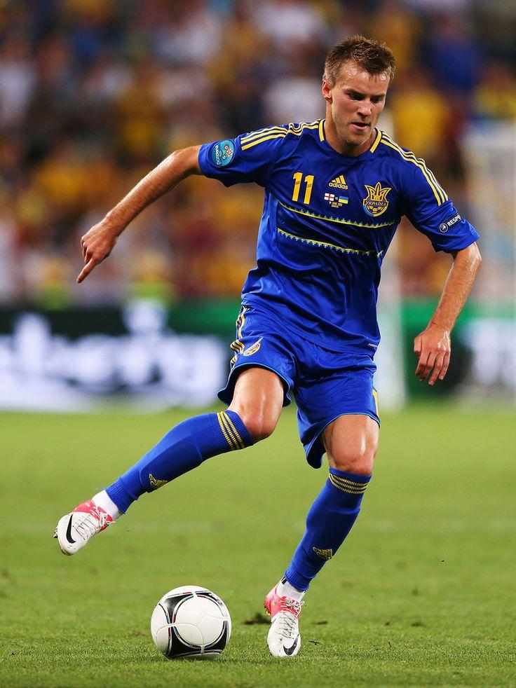 Andriy Yarmolenko on Ukraine's national team