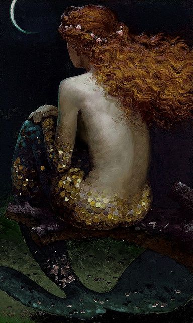 oldpainting: 'Promise' c.2010 by Victor Nizovtsev by Plum leaves...