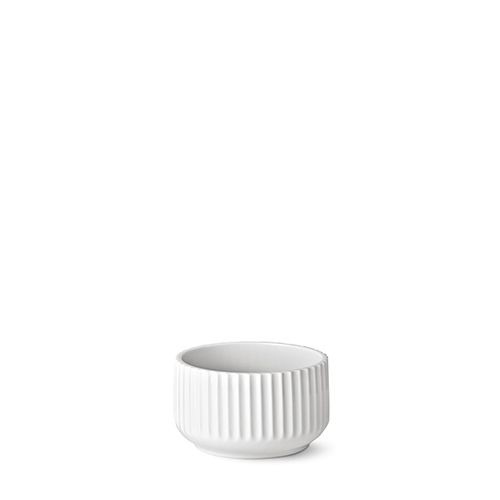 Our 14 cm original Lyngby bowl in white porcelain.